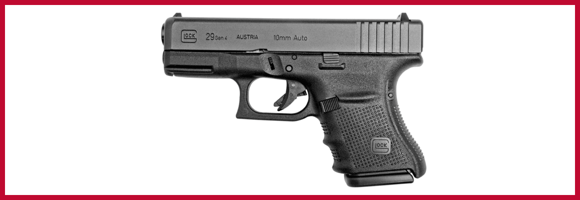The Glock 29 Concealed Carry Handgun Review